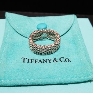 Tiffany &Co Somerset Mesh Ring